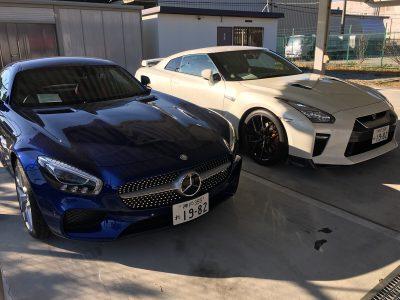 谷畑任三郎の高級車レンタカー配達日記84~メルセデス ベンツAMG-GT・日産 GT-R~