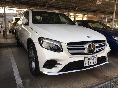 谷畑任三郎の高級車レンタカー配達日記86~メルセデス ベンツ GLC250~