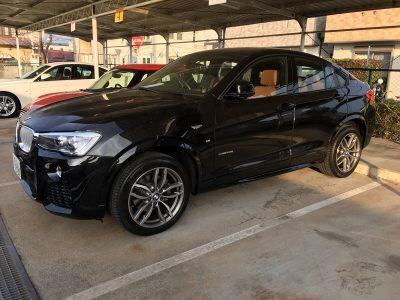 谷畑任三郎の高級車レンタカー配達日記87~BMW X4 X-Drive 28i Mスポーツ~