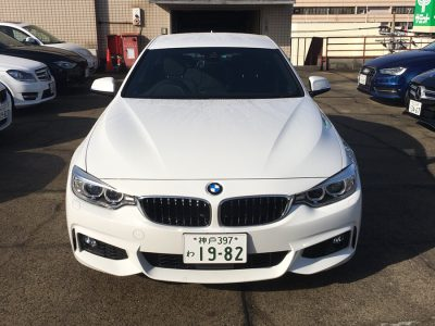 クリス二瓶の高級車レンタカー配達日記38 BMW 420i グランクーペ Mスポーツ