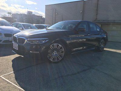 ポッキー高畑の高級車レンタカー配達日記86~BMW 523i~