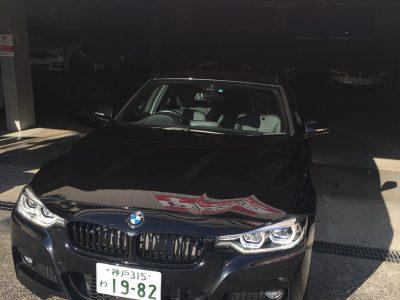 ポッキー高畑の高級車レンタカー配達日記87~BMW 320i  ツーリング x-Drive スタイルエッジ~