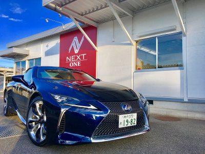パンサー圓尾の高級車レンタカー配達日記83〜レクサス LC500h〜