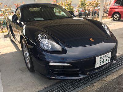 谷畑任三郎の高級車レンタカー配達日記89~ポルシェ ボクスター~