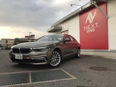 チャーリー坂本の高級車レンタカー配達日記20〜BMW 523d〜