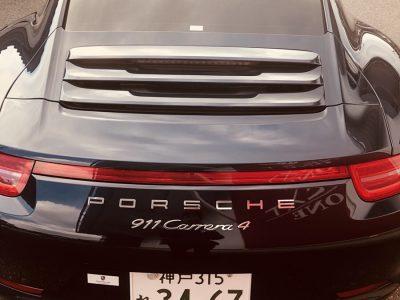 ポッキー高畑の高級車レンタカー配達日記92~ポルシェ 911カレラ4~