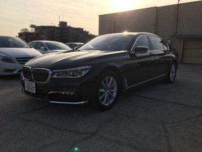 ブルゾン樫原の高級車レンタカー配達日記61~BMW 740i~