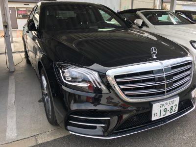 谷畑任三郎の高級車レンタカー配達日記92~メルセデス ベンツ S400 AMGライン~
