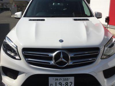 ガッツ由井の高級車レンタカー配達日記36~メルセデス・ベンツ GLE350d~