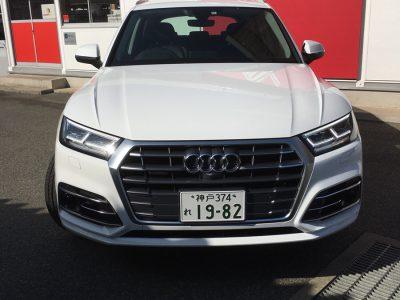 ガッツ由井の高級車レンタカー配達日記37~Audi Q5~