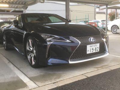 ガッツ由井の高級車レンタカー配達日記38~レクサス LC500h~