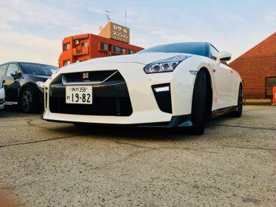 ブルゾン樫原の高級車レンタカー配達日記46~日産 GT-R~