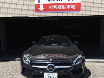 デリ音泉の高級車レンタカー配達日記47~メルセデスベンツ〜AMG-GT~