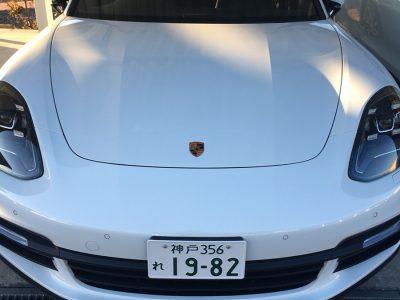 ポッキー高畑の高級車レンタカー配達日記97~ポルシェ パナメーラ4S~