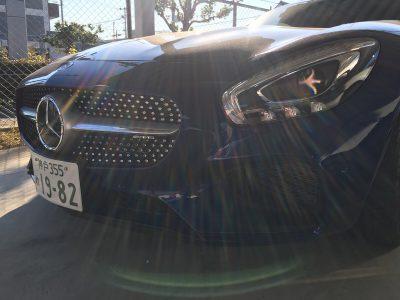 谷畑任三郎の高級車レンタカー配達日記97~メルセデスベンツAMG-GT~