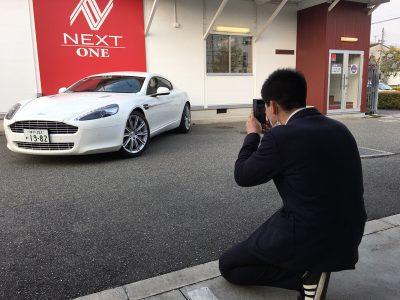 パンサー圓尾の高級車レンタカー配達日記90〜Aston Martin Rapide〜