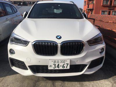 谷畑任三郎の高級車レンタカー配達日記99~BMW X1 xDrive 18d Mスポーツ~