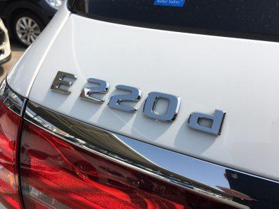ヘルプ吉村の高級車レンタカー配達日記101〜メルセデス・ベンツ E220dステーションワゴン〜