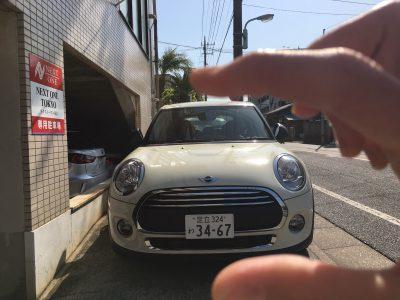 トリプル木村の高級車レンタカー配達日記104~MINI ONE 5ドア~