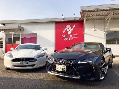 パンサー圓尾の高級車レンタカー配達日記94〜LEXUS×Aston Martin〜