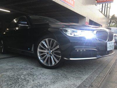 谷畑任三郎の高級車レンタカー配達日記103~BMW 740Li リアコンフォートパッケージ~