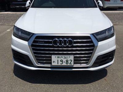 ガッツ由井の高級車レンタカー配達日記46~ Audi Q7 3.0クワトロ エアサス仕様 Sライン ~