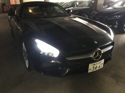 谷畑任三郎の高級車レンタカー配達日記111~メルセデス ベンツAMG-GT~