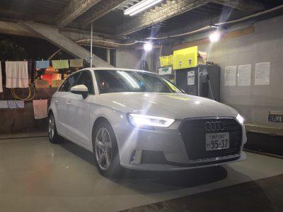ブルゾン樫原の高級車レンタカー配達日記57~アウディ A3~