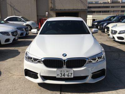クリス二瓶の高級車レンタカー配達日記57 BMW  523i Mスポーツ(G30)