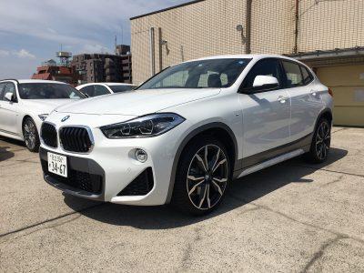 デリ音泉の高級車レンタカー配達日記59~ ~BMW~X2~