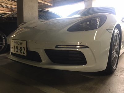 谷畑任三郎の高級車レンタカー配達日記108~ポルシェ 718 ケイマン~