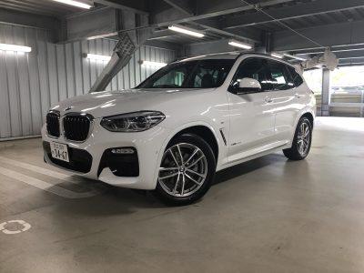 トリプル木村の高級車レンタカー配達日記119~BMW X3(G01)~