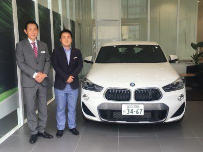 谷畑任三郎の高級車レンタカー配達日記114~BMW X2 xDrive 20i Mスポーツ~