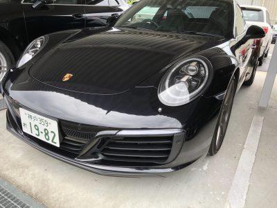 谷畑任三郎の高級車レンタカー配達日記121~ポルシェ 911カレラS~