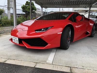 谷畑任三郎の高級車レンタカー配達日記124~ランボルギーニ ウラカン スパイダー~