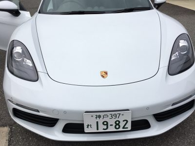 ガッツ由井の高級車レンタカー配達日記63~ポルシェ ケイマン~