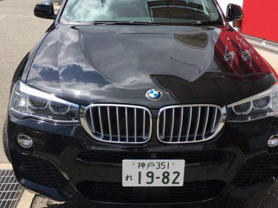 ガッツ由井の高級車レンタカー配達日記62~BMW X4~