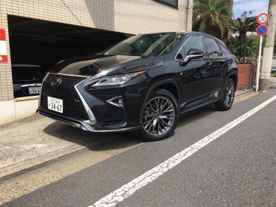 トリプル木村の高級車レンタカー配達日記127~レクサス RX300 Fスポーツ~