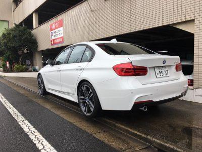 トリプル木村の高級車レンタカー配達日記128~BMW 318i Mスポーツ~