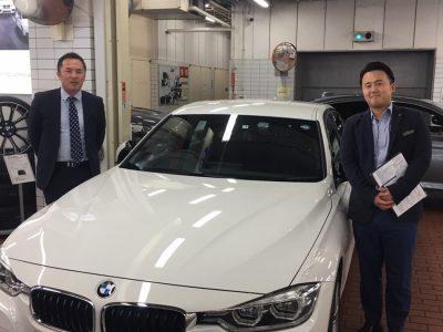 谷畑任三郎の高級車レンタカー配達日記125~BMW 318i Msport~