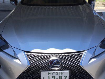 ガッツ由井の高級車レンタカー配達日記65~レクサス LC500h~