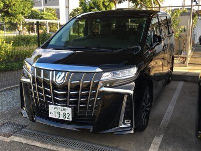 ガッツ由井の高級車レンタカー配達日記64~アルファード 2.5S-Cパッケージ 黒~