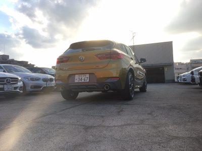 クリス二瓶の高級車レンタカー配達日記74 BMW X2 xDrive 20i MスポーツX