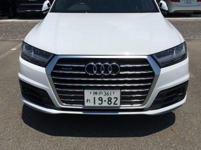 ガッツ由井の高級車レンタカー配達日記70~Audi  Q7~