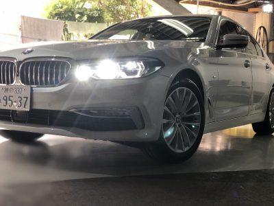 タンメン樫原の高級車レンタカー配達日記79〜BMW 523i 〜