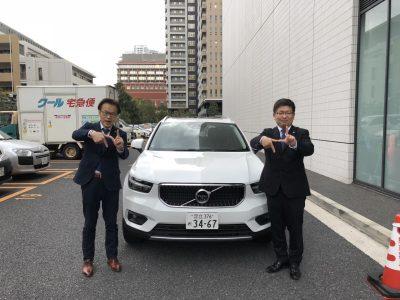 谷畑任三郎の高級車レンタカー配達日記133~ボルボ XC40 T4 Momentum~