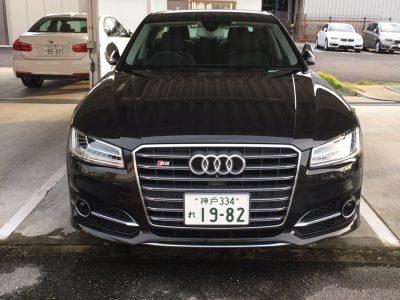 ガッツ由井の高級車レンタカー配達日記69~Audi S8~