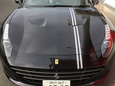 ガッツ由井の高級車レンタカー配達日記72~Ferrari CaliforniaT~