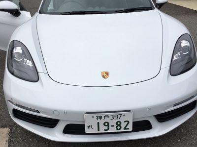 ガッツ由井の高級車レンタカー配達日記75~ポルシェ 718ケイマン~