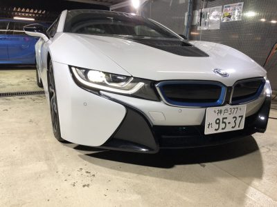谷畑任三郎の高級車レンタカー配達日記135~BMW i8~